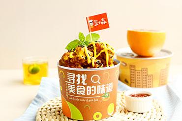 豆小森易拉罐韩式炸鸡 双线热卖