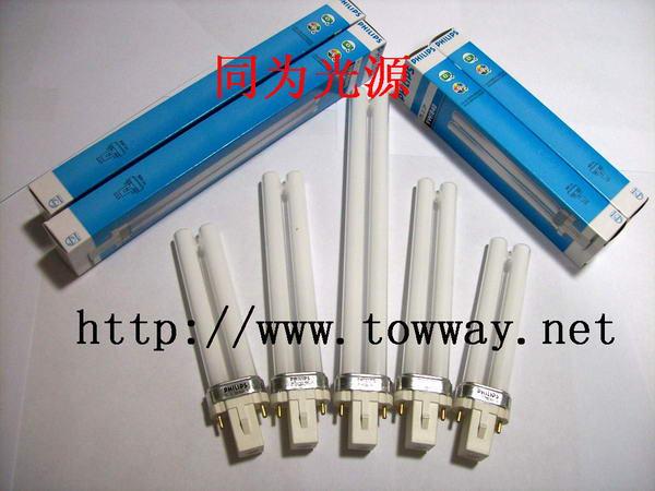 飞利浦单管紧凑型节能灯PL-S 7W/9W/11W/840/827/865 2P/4P 飞利浦单插管