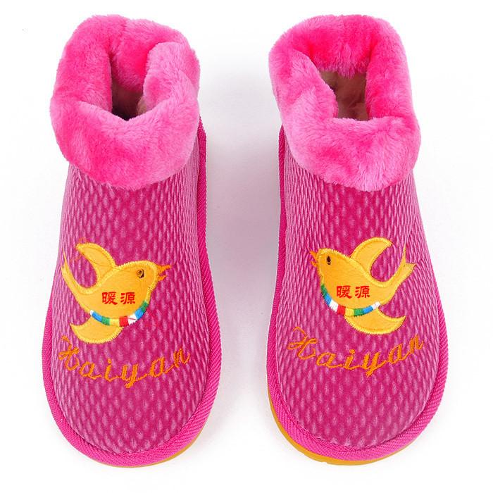 充电保暖鞋