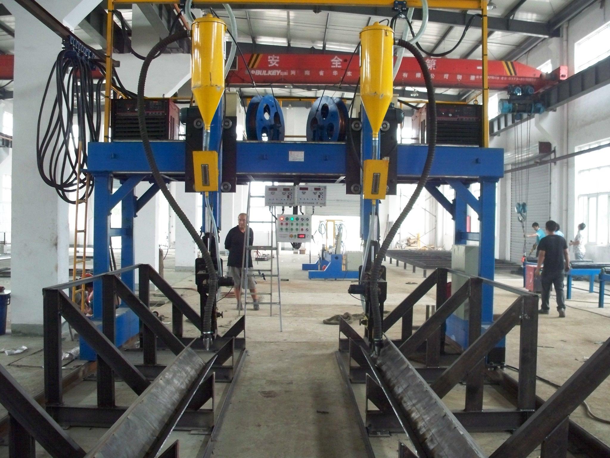 钢结构焊接生产线-机械设备-金属加工—959品牌招商网